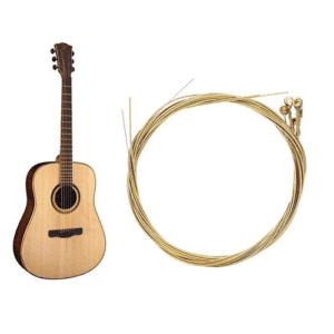 Akusztikus gitárhúrok darabra